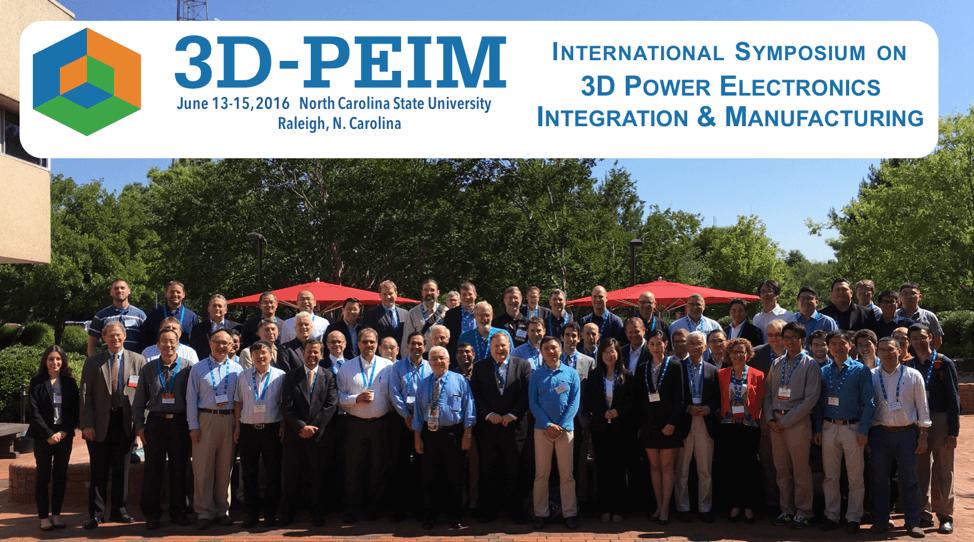 Successful Inaugural 3D-PEIM Symposium
