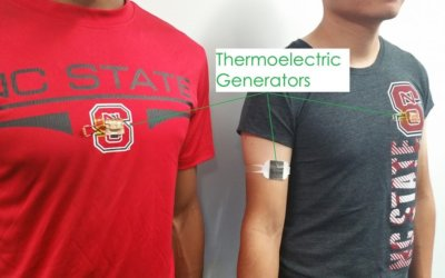Lightweight Wearable Tech Efficiently Converts Body Heat to Electricity
