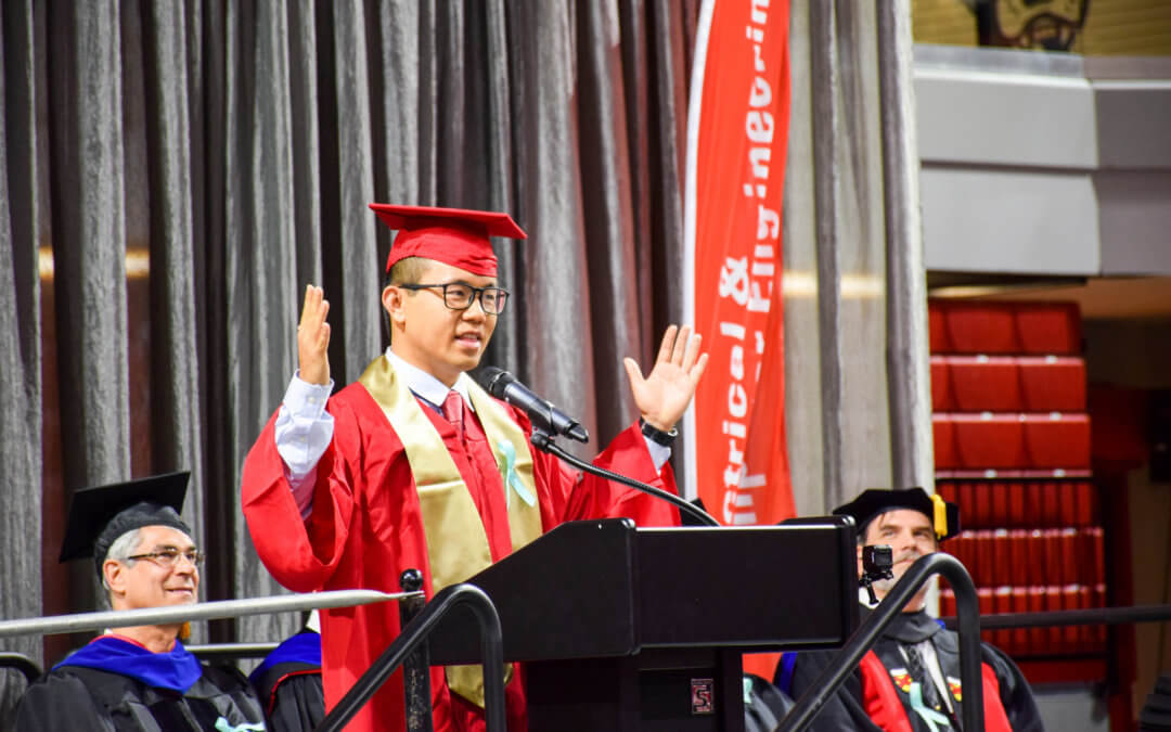 Over 450 ECE Graduates Honored at Spring Graduation Ceremony
