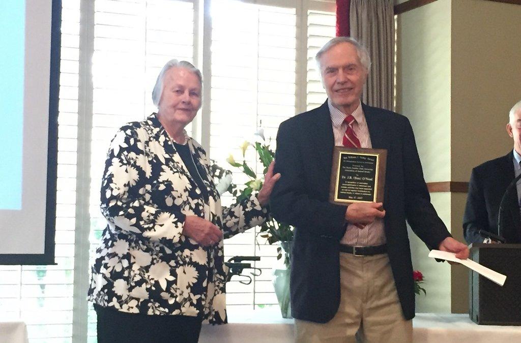 Ben O'Neal Receives Friday Award