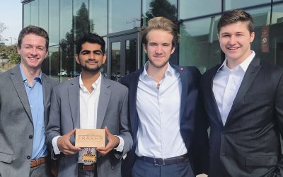 NC State Students Launch Company To Modernize Dumpsters