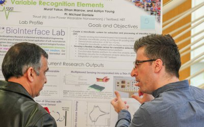 Yokus Wins First Place at ECE GSA Research Symposium