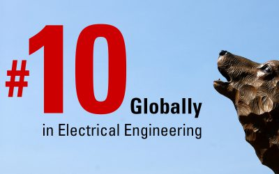 NC State Ranked #10 Globally for Electrical Engineering