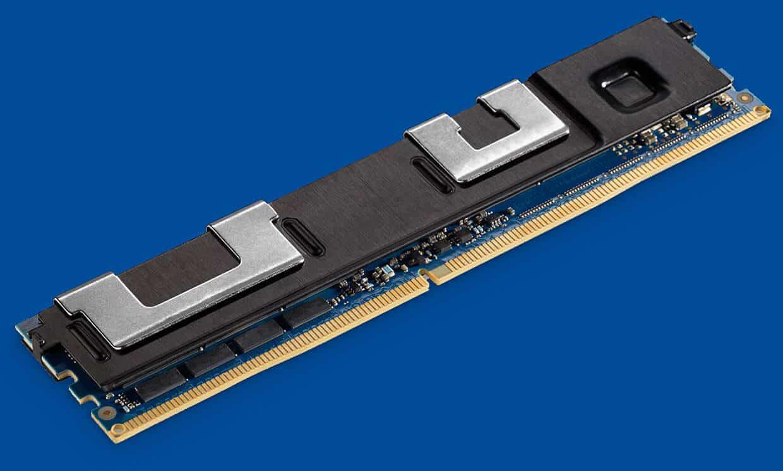 Intel's 3D XPoint (Optane) DIMM module.