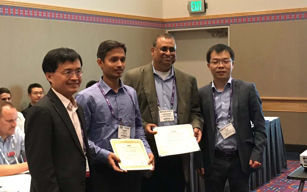 Bhattacharya's Student Hazra Receives Best Paper Award from IEEE Power Electronics