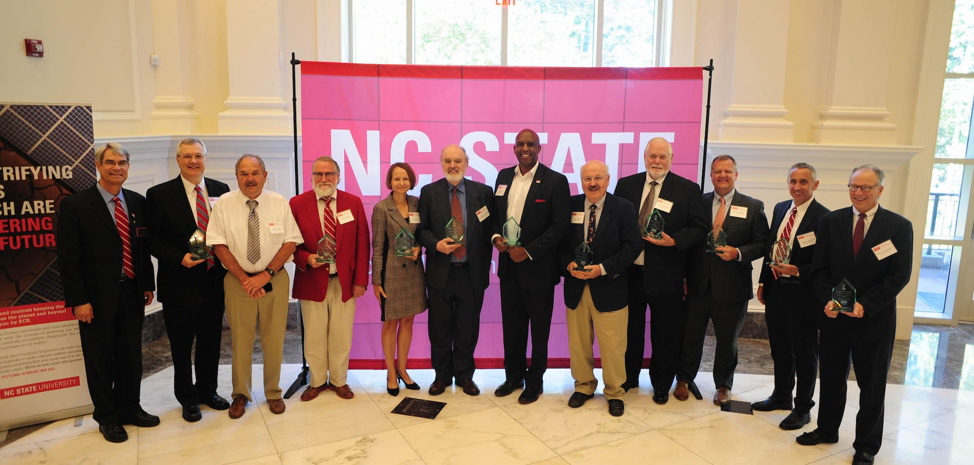 Department Inducts Members of 2018 Alumni Hall of Fame