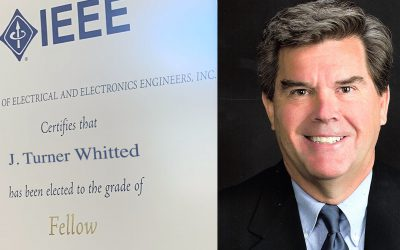 J Turner Whitted made 2019 IEEE Fellow