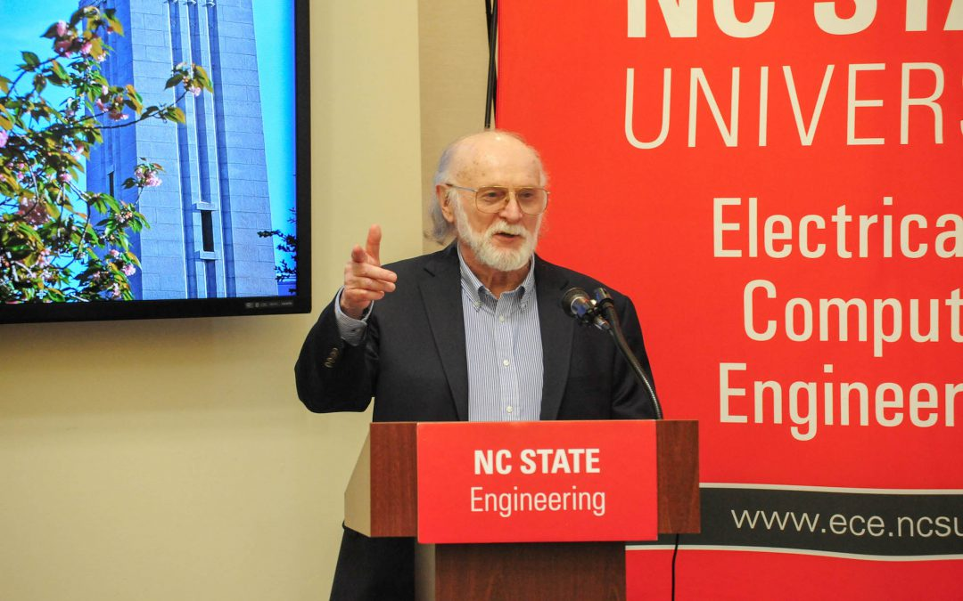 Department mourns loss of Dr. Robert Trew, former ECE department head