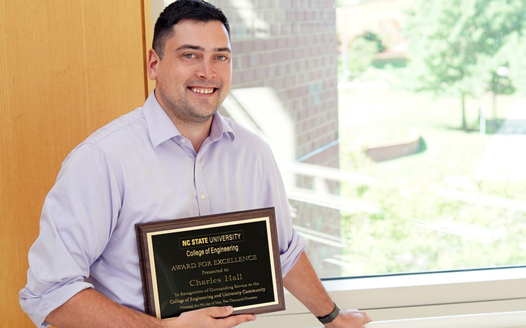 Hall Recognized with College's 2019 Award for Excellence