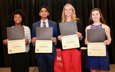 Kemburu Receives the Engineering Senior Award for Leadership