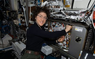 Christina Koch Completes 328-Day Mission on Space Station