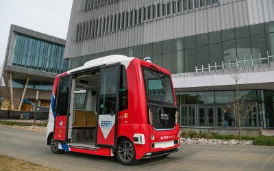Driverless Shuttle a Smart Move for Centennial Campus