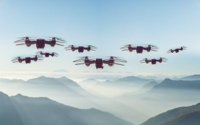 Research Advances Learning Capability of Drone Swarms