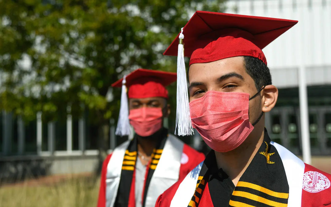 Local Company with ECE Roots Donates Innovative Face Masks for Commencement